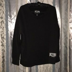 Black Victoria's Secret sport sweatshirt